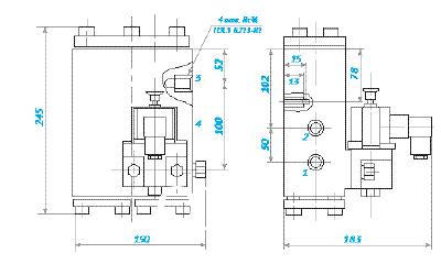 Продаем пневмораспределитель с пневмоуправлением типа 1) распределитель пневматический в63-13м в220, пв63-13м в380